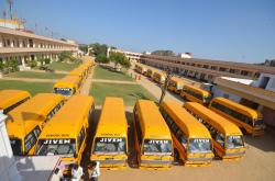 best CBSE education in Rajasthan Transport Facilities