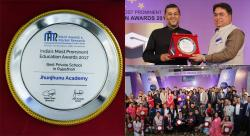 Best Private School in Rajasthan Award to Jhunjhunu Academy