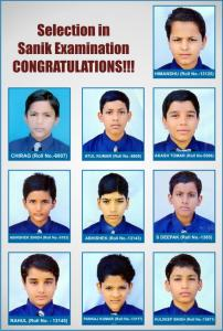 A Great Success in Sainik School Examinations: 10 students recorded their name in the success story